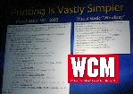 Vergleich LOC zum Drucken VS 2003 und Whidbey