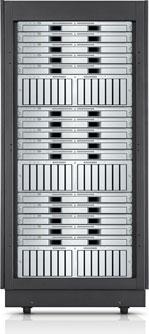 Xserve G5 und Xserve RAID im Rack